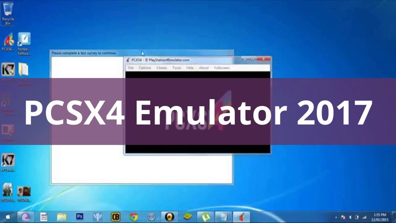 pcsx4 emulator 2015 free download